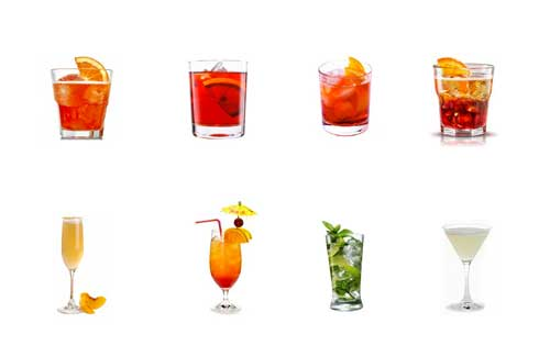 ecco la classificati dei migliori cocktail da consumare come aperitivo