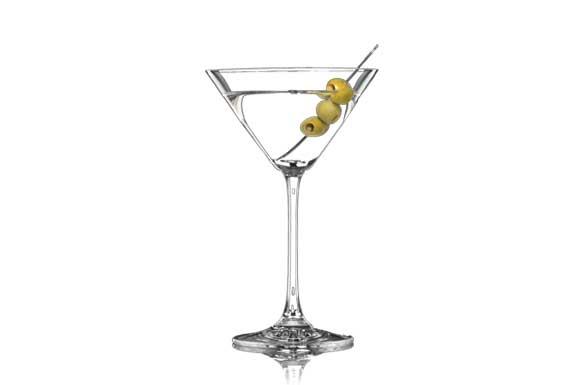 preparazione cocktail martini