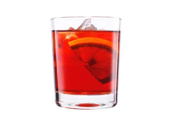 preparazione cocktail americano