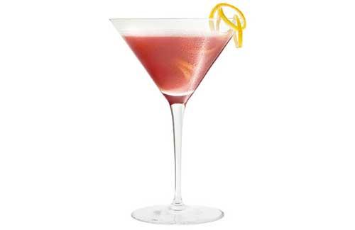 preparazione completa cocktail french Martini