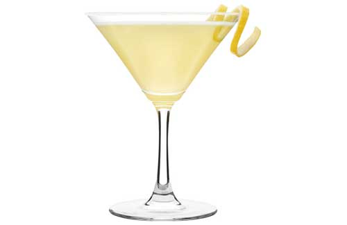 Ecco come preparare la ricetta del cocktail lemon drop martini