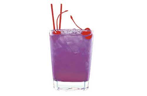 Ricetta e preparazione cocktail purple rain