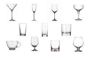 Bicchieri da Cocktail: Ecco la Classificazione di tutti i tipi di Bicchieri